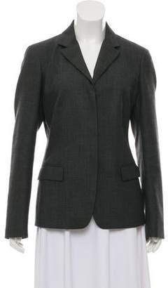 Calvin Klein Collection Notch-Lapel Wool Blazer