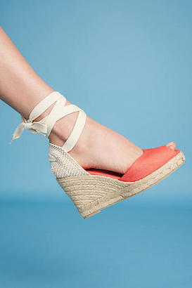 Pinaz Ankle-Tie Espadrilles $88 thestylecure.com