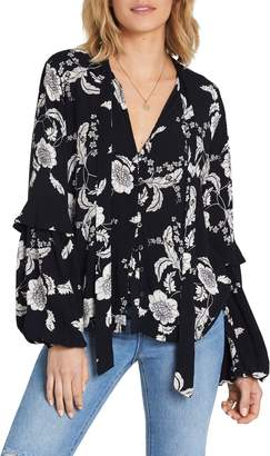Billabong Bird's Eye Floral Blouse