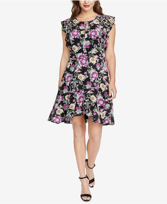 Rachel Roy Lora Floral-Print Dress, Created for Macy's