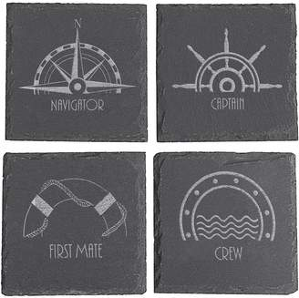 Personalized Gifts Nautical Coasters (Set of 4)