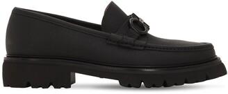 Salvatore Ferragamo 35mm Bleecker Leather Loafers