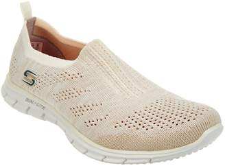 Skechers Flat Knit Slip-On Sneakers - Stunner