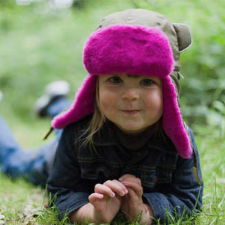 5b945278bf65 Little Hotdog Watson Trapper Hat For Kids