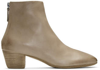 Marsèll Beige Coltello Inverno Boots