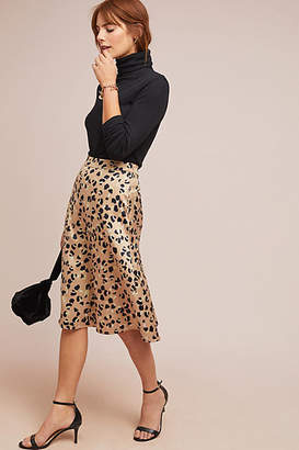 0738464d5 at Anthropologie · Hutch Leopard Skirt