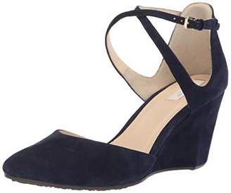 Cole Haan Women's Lacey Wedge Ankle Strap 75MM Shoe