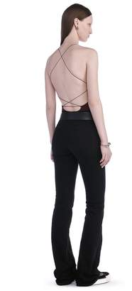 Alexander Wang Modal Spandex Sleeveless Bodysuit