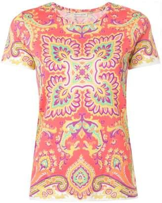 Etro bohemian print T-shirt