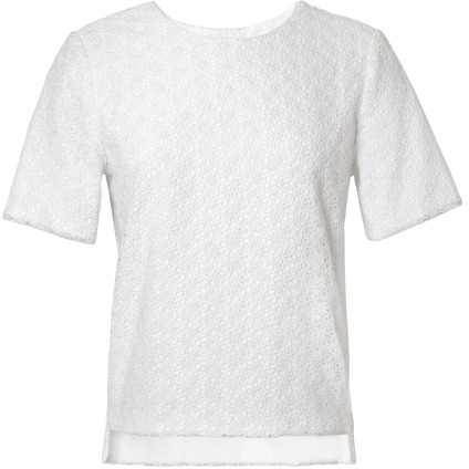 Preorder Katie Ermilio Lace Cruise Tee