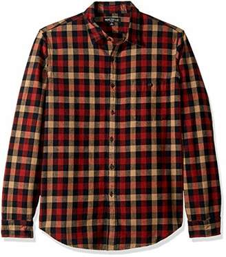 J.Crew Mercantile Men's Long-Sleeve Heathered Gingham Shirt