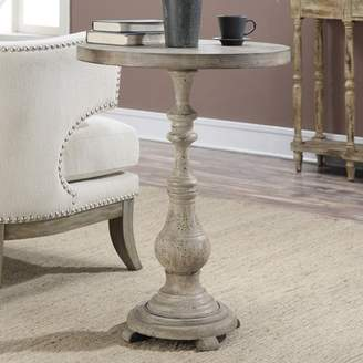 Convenience Concepts Wyoming Spindle Accent Table, Antique Wood/China Fir