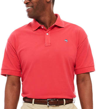 BISCAYNE BAY Biscayne Bay Short-Sleeve Pique Polo
