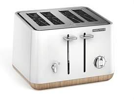 Morphy Richards Aspect Scandi 4 Slice Toaster White