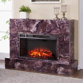 Astoria Grand Torvelle Electric Fireplace TV Stand Astoria Grand