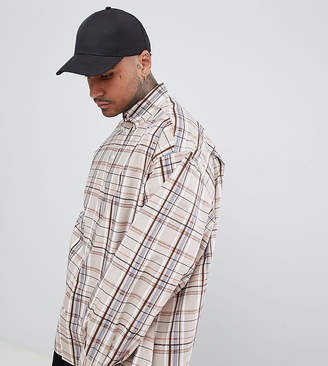 ADD oversized check shirt