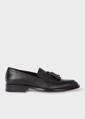 Paul Smith Women's Black Leather 'Alexis' Loafers