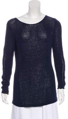 Rachel Zoe Knit Scoop Neck Sweater