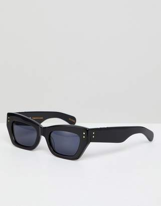 Cat Eye Pared Sunglasses Pared small sunglasses in black