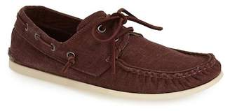 John Varvatos Collection Schooner Canvas Boat Shoe