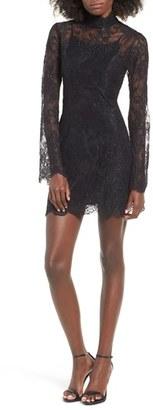 Women's Stone Cold Fox Kerr Lace Minidress $580 thestylecure.com