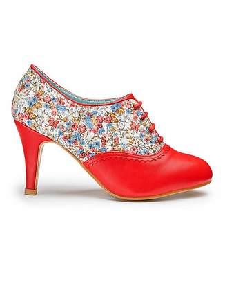 Joe Browns Floral Shoe Boots EEE Fit