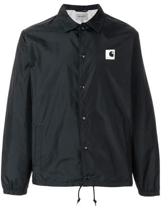 Carhartt logo fitted jacket