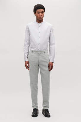 Cos REGULAR-FIT WOOL TROUSERS