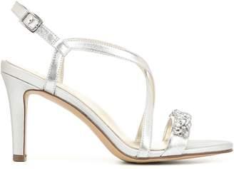 Naturalizer Kia Stiletto Heel Slingback Leather Sandals