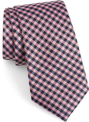 Calibrate Fiswell Check Silk Tie