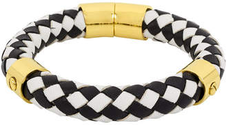 Henri Bendel Braided Leather Bracelet