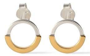 Maya Magal London Sterling Silver And 18-Karat Gold-Plated Earrings