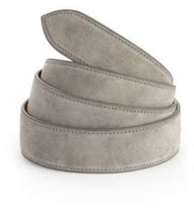 Corthay Grey Suede Belt