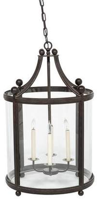 Ferrante Paul Wrought Iron Lantern Chandelier