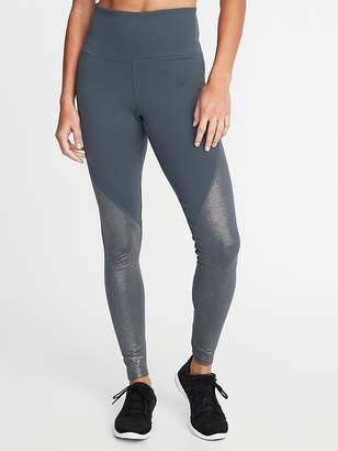Old Navy High-Rise Shimmer Long Compression Leggings for Women