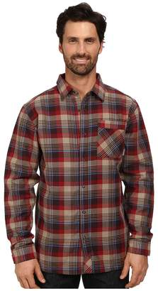 Mountain Hardwear Reversible Flannel Plaid Long Sleeve Shirt Men's Long Sleeve Button Up