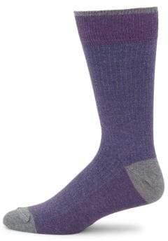Saks Fifth Avenue COLLECTION Stripe Tech Socks