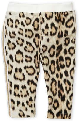 Roberto Cavalli Junior (Newborn Girls) Leopard Print Pants