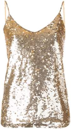 P.A.R.O.S.H. sequin embellished cami top
