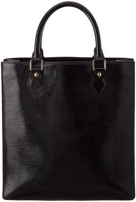 Louis Vuitton Noir Epi Leather Sac Plat Pm