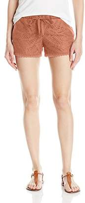 Jolt Women's Leaf Lace Short