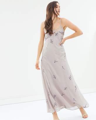Dorothy Perkins Embellished Slip Maxi Dress