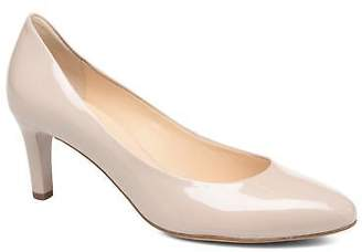 Högl Women's Tela Rounded toe High Heels in Beige