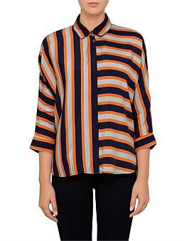 BOSS ORANGE Emaxi 1 10203173 01 Stripe Shirt