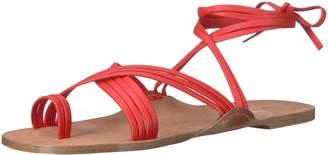 Via Spiga Women's Allegra Ankle WRAP Sandal Fisherman