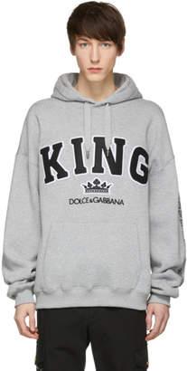 Dolce & Gabbana Grey King Hoodie