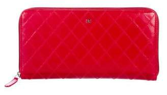 Chanel Quilted Travel Organizer Wallet
