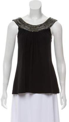 Jasmine Di Milo Embellished Silk Top