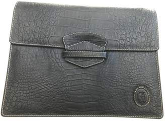 Trussardi Leather clutch bag