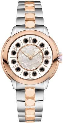Fendi watch with topaz detail